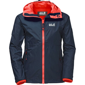 Jack Wolfskin Rainy Days Jacket Girls midnight blue